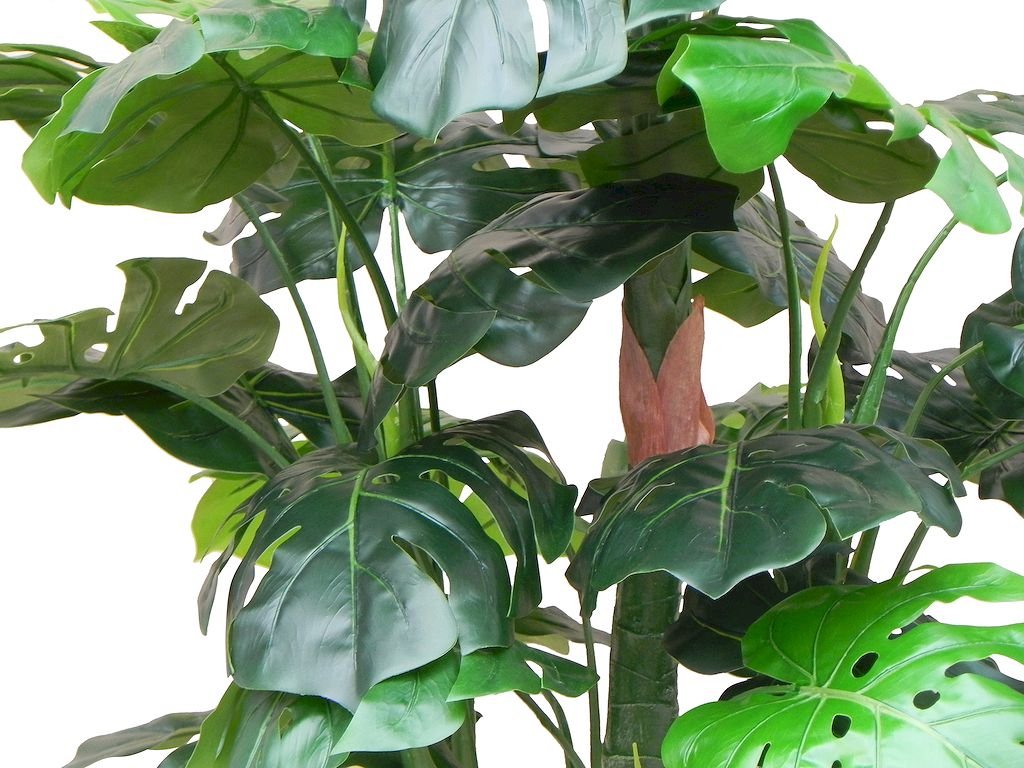 HTT Decorations - Kunstplant Monstera (140x60 cm) - Kunstplantshop.nl